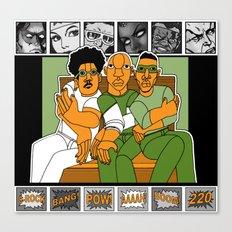 1001 Black Men--#220 Canvas Print