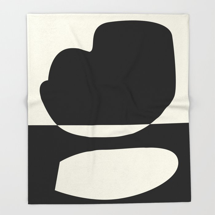 // Reverse 01 Throw Blanket