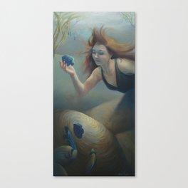 """""""Aquatic Angel"""" Canvas Print"""