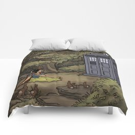 Escape from the Dark Forest Comforters