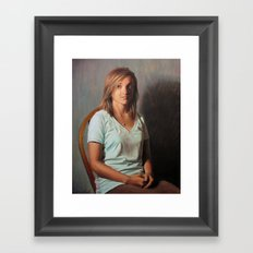 Abby  Framed Art Print