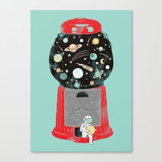 My childhood universe Canvas Print