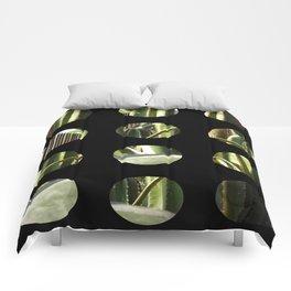 Cactus Garden Art Circles 2 Comforters