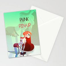 Punk PinUp Stationery Cards