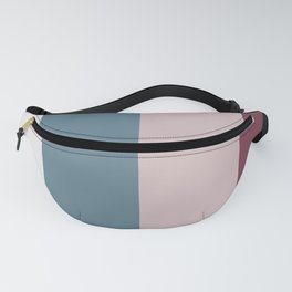 Parable to Behr Blueprint Color of the Year and Accent Colors Vertical Stripes 9 Fanny Pack