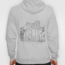 women who support each other Hoody