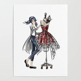 Paris Designer Poster