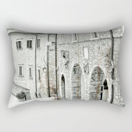 Italian street view 02 Rectangular Pillow