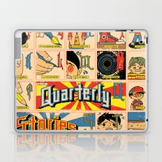 Odd Alphabet Chart Laptop & iPad Skin
