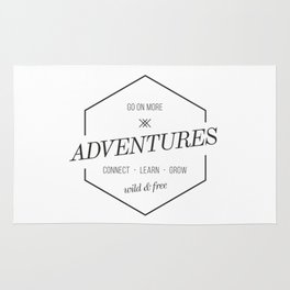 more adventures Rug