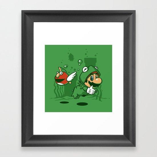 Muppet Suit Framed Art Print