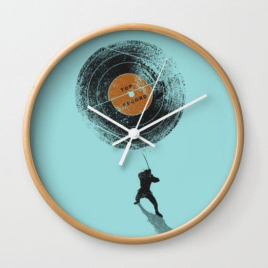 Record Breaker Wall Clock
