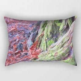 Tree Meets Ground Rectangular Pillow