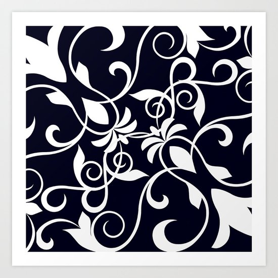 flower pattern? Art Print