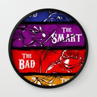 The Good, The Smart, The Bad and The Hungry Wall Clock