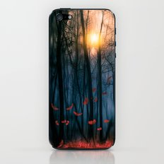 Red feather dance  (colour option) iPhone & iPod Skin