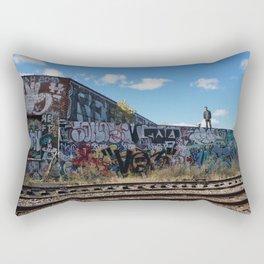 Detroit Exploring Rectangular Pillow