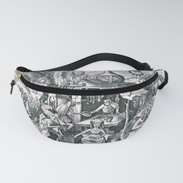 Greed, one of the Seven Deadly Sins Fanny Pack