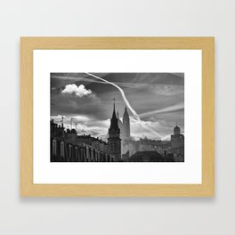 a view from the window, Paris Framed Art Print