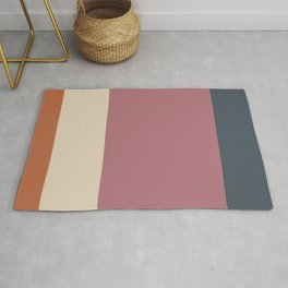 Contemporary Color Block V Rug