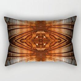 Quad Tracks #1 Rectangular Pillow