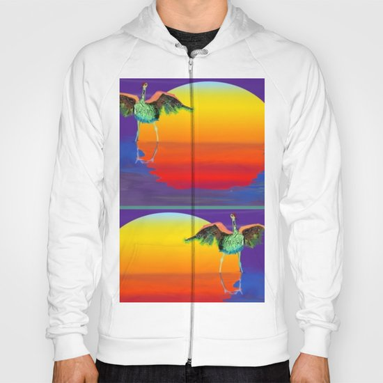 bosque bird Hoody