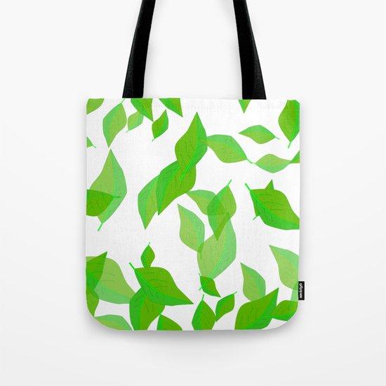 Leaves of spring Tote Bag