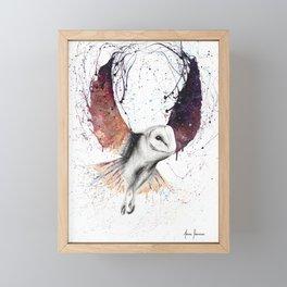 Midnight Owl Framed Mini Art Print
