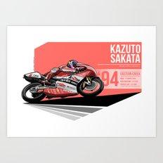 Kazuto Sakata - 1994 Eastern Creek Art Print