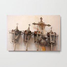 Religious artifacts Metal Print