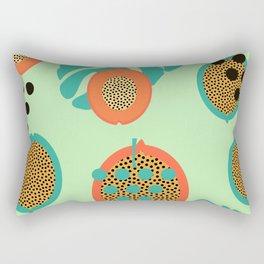 Grapes and tropical fruits Rectangular Pillow