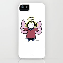 Whimsy Angel iPhone Case