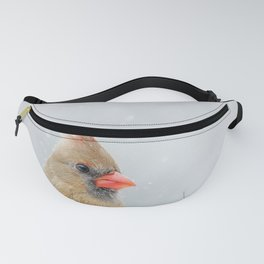 Female Northern Cardinal Fanny Pack