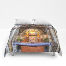 Saint Padre Pio St Stephens Cathedral Vienna Comforters
