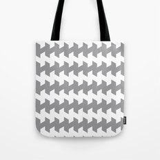 jaggered and staggered in alloy Tote Bag