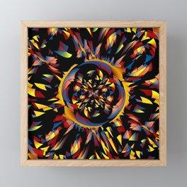 Spiky abstract Framed Mini Art Print