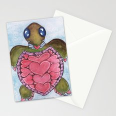 I Heart Sea Turtles Stationery Cards
