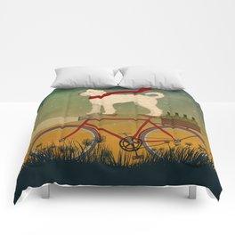Doodle Bike Comforters