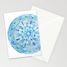 Blue Mandala 1 Stationery Cards