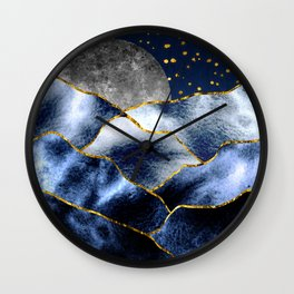 Full moon II Wall Clock