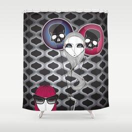 Happy B-Day Samara Shower Curtain