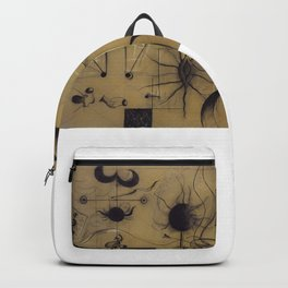 Joan Miro The Family 1924 Artwork T Shirt, Art Reproduction Backpack