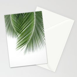 Delicate palms Stationery Cards