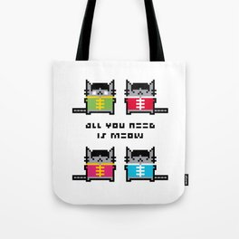 All You Need Is Meow Tote Bag