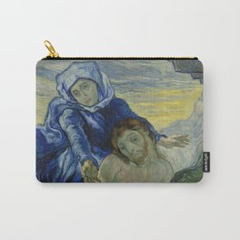 Pietà (after Delacroix) Carry-All Pouch