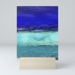 Midnight Waves Seascape Mini Art Print
