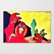 Temptation of Christ in the Desert Canvas Print