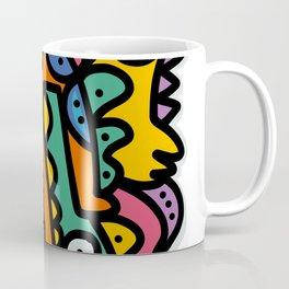 Graffiti Pre Colombian Street Art Cool Creatures Coffee Mug