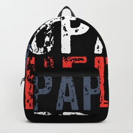 Papa Grandpa Hero Backpack