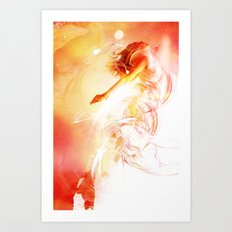 The Surface of the Sun Art Print